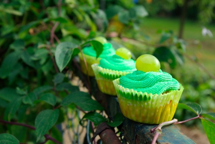 Cupcakes chèvre/raisin