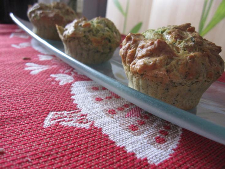 Petits cakes chèvre pesto