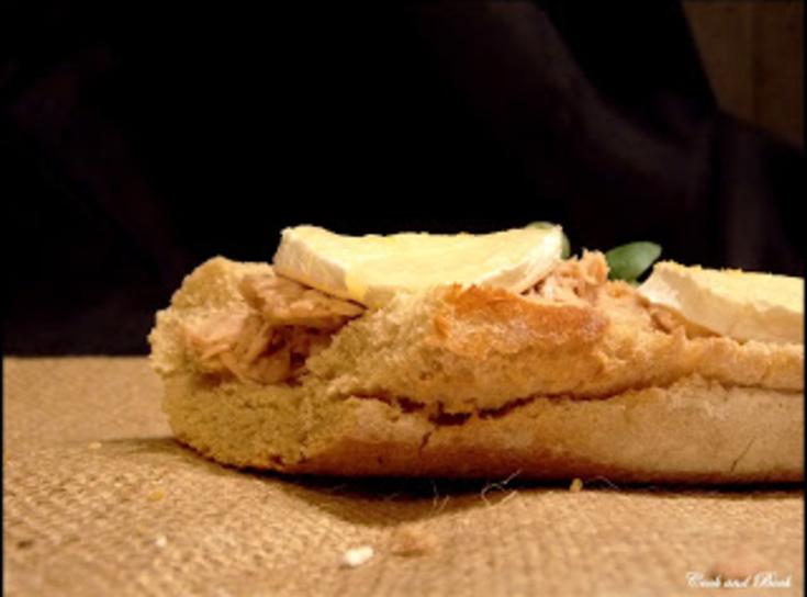 Tartines de chèvre chaud au thon