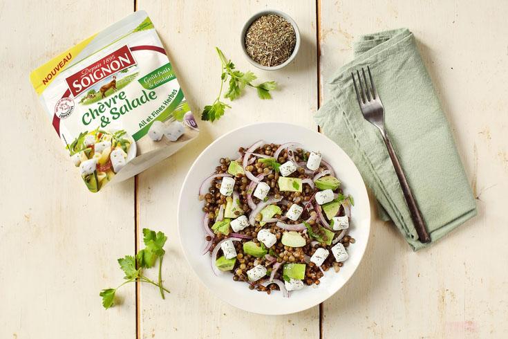 Les bûchettes Chèvre & Salade Ail et Fines Herbes 120g