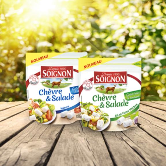Sublimez vos salades avec nos bûchettes de chèvre !