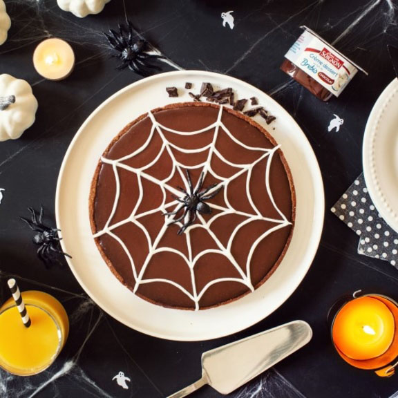 Tarte d'Halloween au chocolat