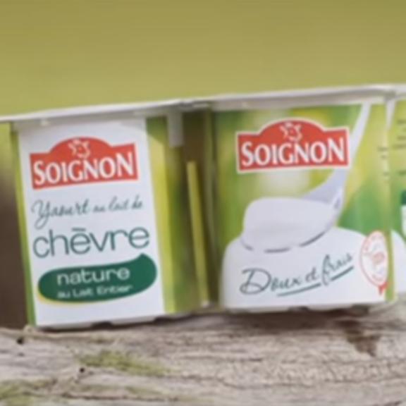 Publicité Soignon Yaourt au lait de chèvre 2013