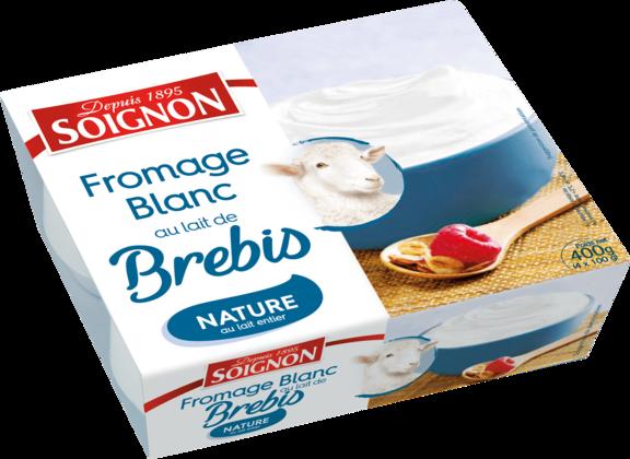 Fromage blanc nature au lait de brebis