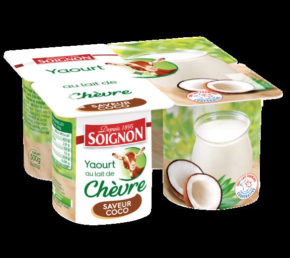 Yaourt coco au lait de chèvre