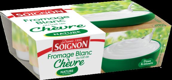 Fromage blanc nature au lait de chèvre
