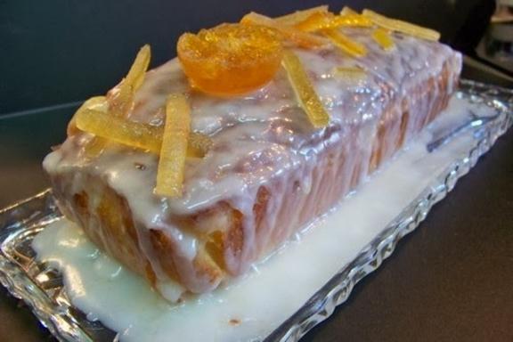 Cake au citron et yaourt au lait de chèvre vanillé