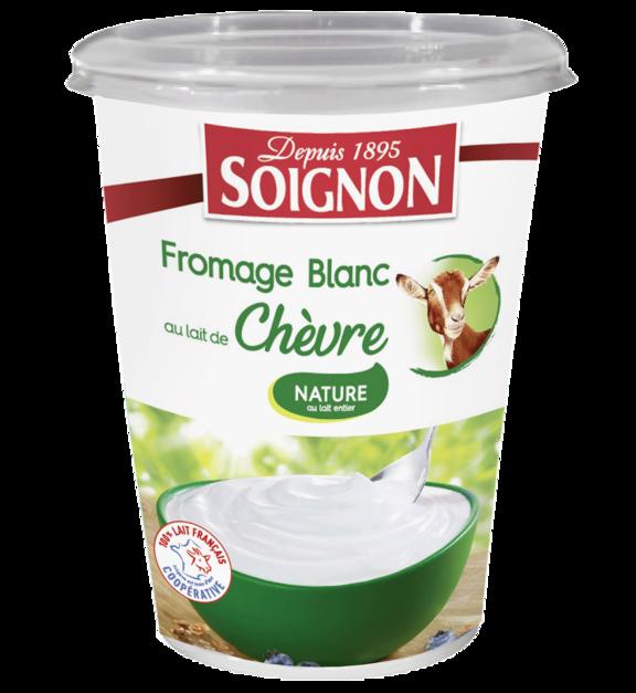 Fromage blanc nature au lait de chèvre 400g
