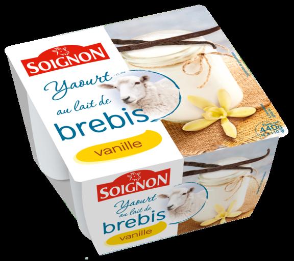 Yaourt vanille au lait de brebis