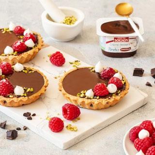 Tartelettes-Cookies au chocolat