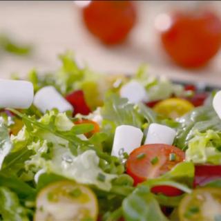 Publicité Soignon Chèvre & Salade 2019