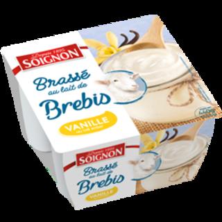 Yaourt brassé vanille au lait de brebis