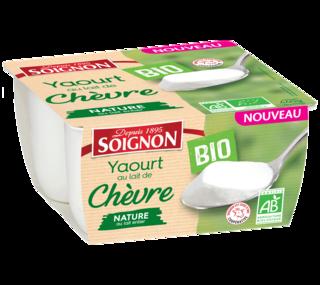 Yaourt Nature Bio au lait de chèvre
