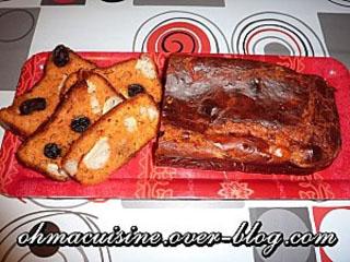 Cake tomate, chèvre et olive