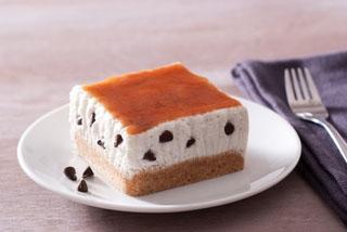 Cheesecake crème de châtaignes et fromage blanc de chèvre