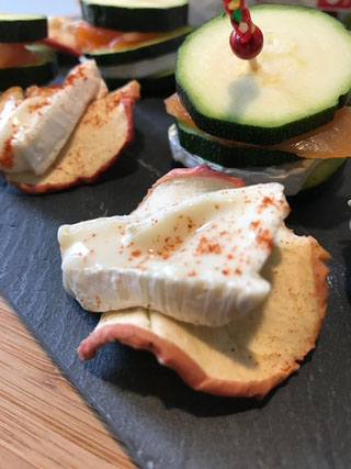 Chips de chèvre croustillantes