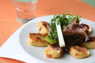 Gnocchi de pommes de terre au fromage de Chèvre