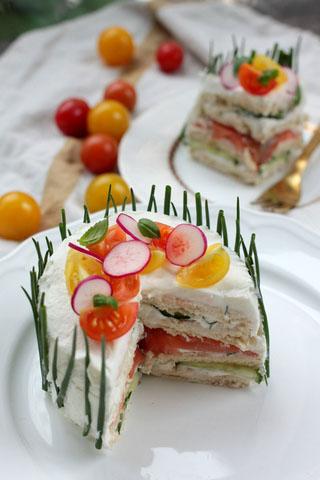 Mini-sandwich cake