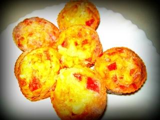 Muffin au chèvre sucré/salé