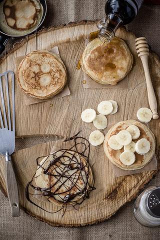 Pancakes aux yaourts de Chèvre Soignon