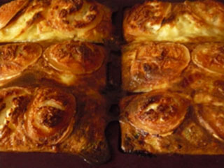 Quiche sans pâte courgettes, saumon et chèvre
