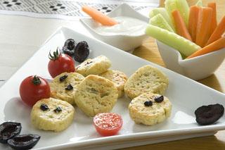 Sablés salés au fromage de chèvre et aux herbes de Provence