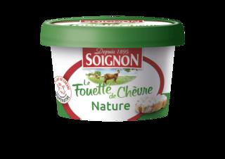 Le Fromage de Chèvre Fouetté Nature 140g
