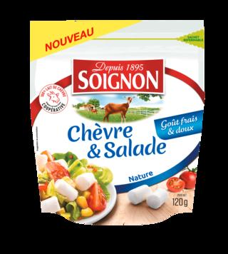 Les bûchettes Chèvre & Salade Nature 120g
