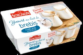 Yaourt nature au lait de brebis format familial